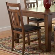 HomeVance 2-pc. Table Side Chair Set