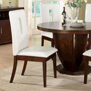 HomeVance 2-pc. Key Hole Table Chair Set
