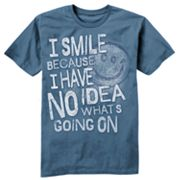 Taboo I Smile Tee - Big and Tall