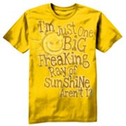 Taboo Ray of Sunshine Tee - Big and Tall