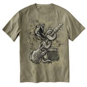 Taboo Serpent Guitar Tee - Big and Tall