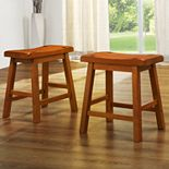 HomeVance 2-pc. Table Stool Set
