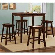 HomeVance 5-pc. Pub Set