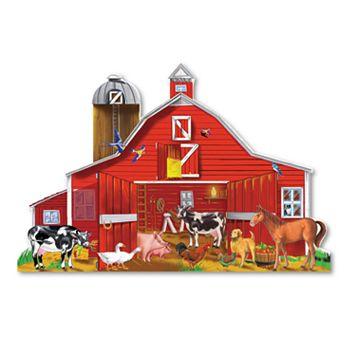 Melissa & Doug Farm Friends Floor Puzzle