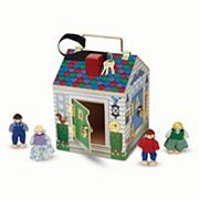 Melissa and Doug Doorbell House Playset