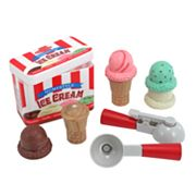 Melissa and Doug Scoop and Stack Ice Cream Cone Playset