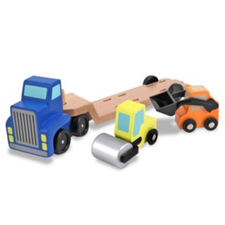 Melissa and Doug Low Loader Playset