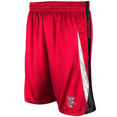 Colosseum Wisconsin Badgers Axle Shorts