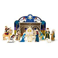 Melissa & Doug Wooden Nativity Set