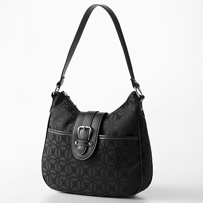 Croft and Barrow Signature Buckle Hobo