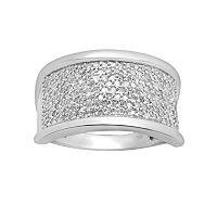 10k White Gold 1/2-ct. T.W. Diamond Ring