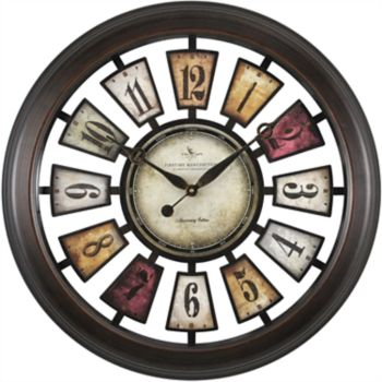 FirsTime Numeral Plaques Wall Clock