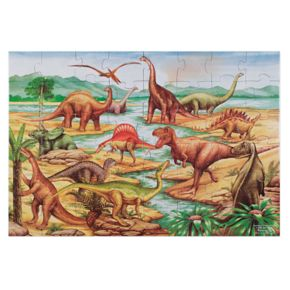 Melissa and Doug Dinosaurs Floor Puzzle