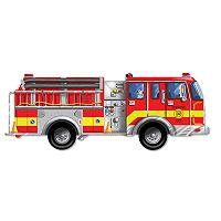 Melissa & Doug Fire Truck Floor Puzzle