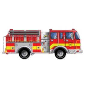 Melissa and Doug Fire Truck Floor Puzzle