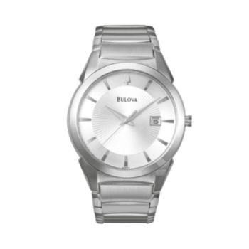 Bulova Stainless Steel Watch - 96B015 - Men