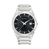 Bulova Dress Classic Stainless Steel Watch - 96B149 - Men