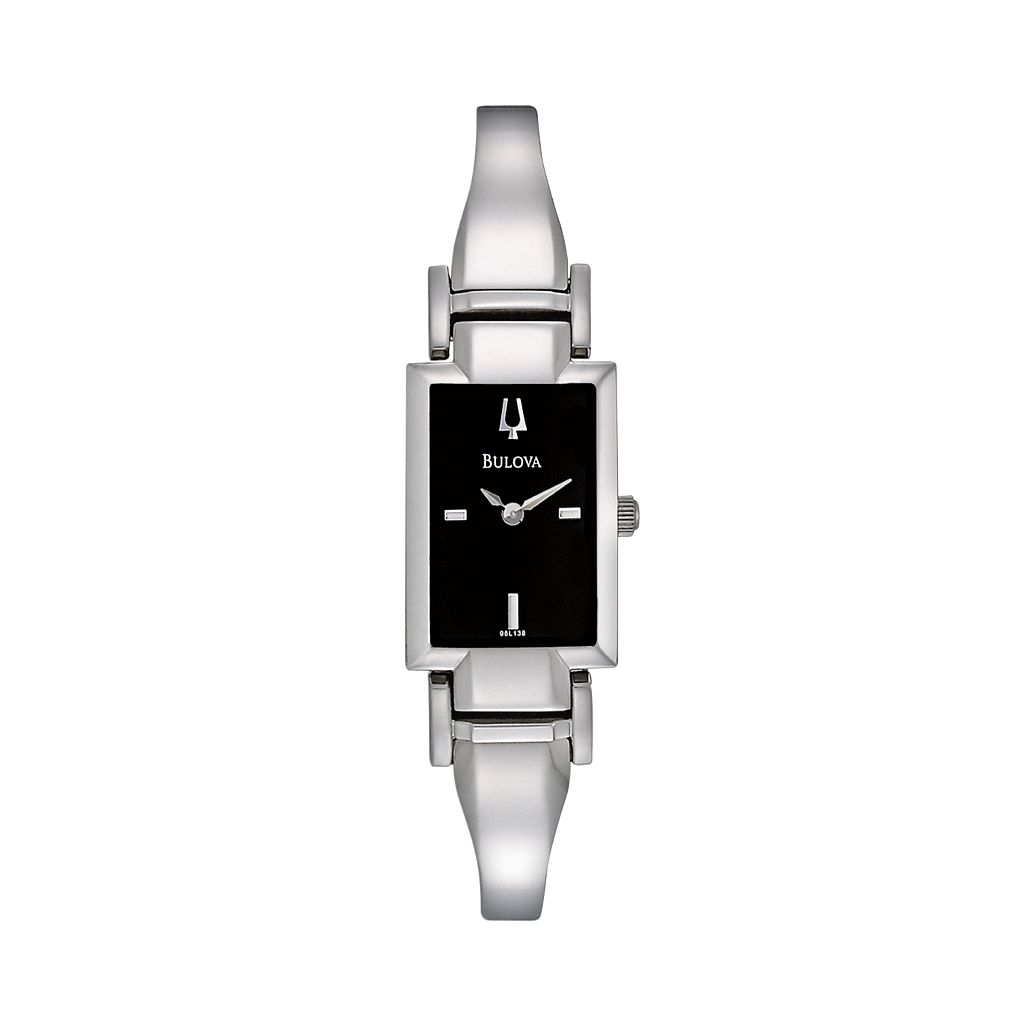 Bulova Women's Stainless Steel Half-Bangle Watch - 96L138