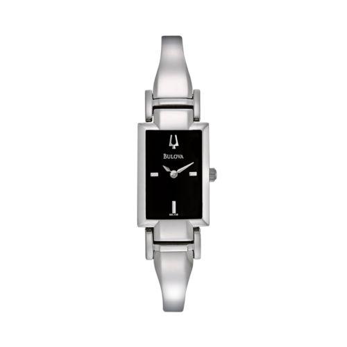 Bulova Watch - Women's Stainless Steel Half-Bangle - 96L138