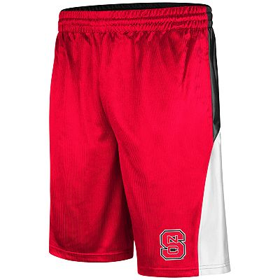 Colosseum North Carolina State Wolfpack Patriot Dazzle Basketball Shorts