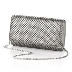 Gunne Sax by Jessica McClintock Metal Mesh Clutch