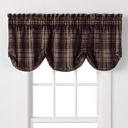 Chaps Yorkshire Plaid Valance - 21'' x 70''