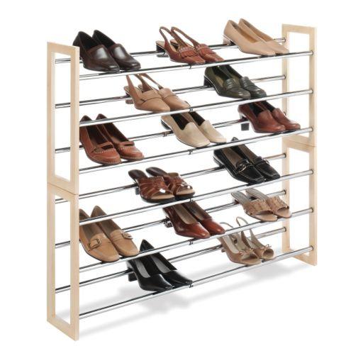 Whitmor 3-Tier Expandable Shoe Rack