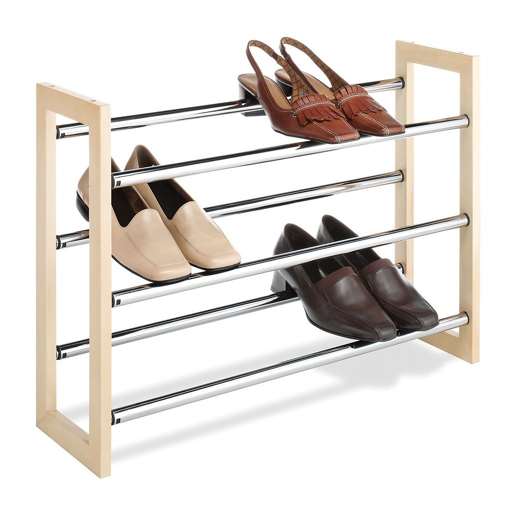 Whitmor 3-Tier Expandable Shoe Rack