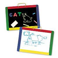 Melissa & Doug Magnetic Chalkboard/Dry-Erase Board