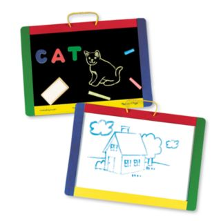 Melissa and Doug Magnetic Chalkboard/Dry-Erase Board