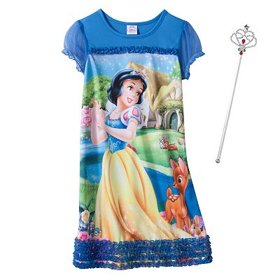 Disney Princess Snow White Nightgown - Girls'
