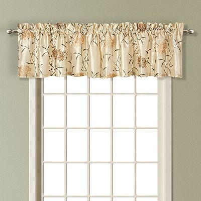United Curtain Co. Avalon Valance - 18'' x 54''