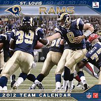 St. Louis Rams 2012 Wall Calendar