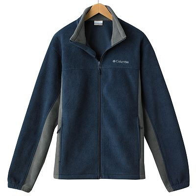Columbia Sportswear Company Vertical Drop Colorblock Fleece Jacket - Men