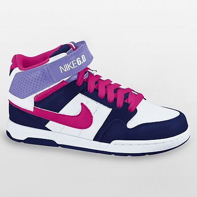 Nike 6.0 Mogan Mid 2 Jr. Shoes - Grade School Girls