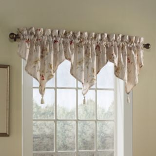 United Curtain Co. Chantelle Ascot Window Valance - 48'' x 16''