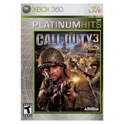 Call of Duty 3 Platinum Hits for Xbox 360