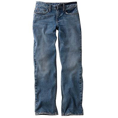 Chaps Slim Straight-Leg Jeans - Boys 8-20