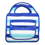 Tri-Coastal Design Striped Insulated Lunch Tote