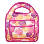 Tri-Coastal Design Ink Dots Insulated Lunch Tote