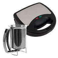 Chef Buddy Panini & Waffle Press Set
