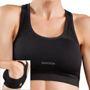 Danskin COOLMAX Keyhole Seamless Sports Bra - DS0008