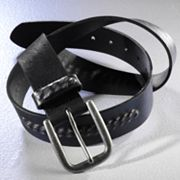 Rock and Republic Chain Leather Belt