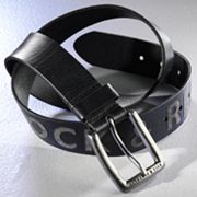 Rock and Republic Embossed Leather Belt