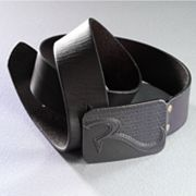 Rock and Republic Plaque Leather Belt