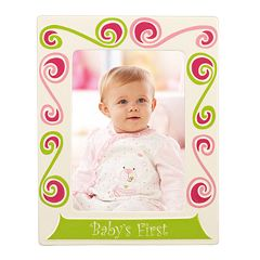 Merry Go Round Little Girl With A Curl 'Baby's First' 5' x 7' Frame
