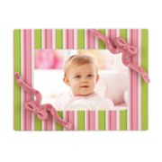 Merry Go Round Little Girl With A Curl Striped 4 x 6 Frame