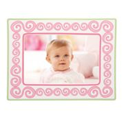 Merry Go Round Little Girl With A Curl Swirl 4 x 6 Frame