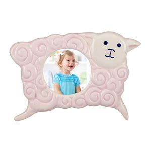 Merry Go Round Little Girl With A Curl Sheep 2 x 2 Frame