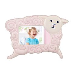 Merry Go Round Little Girl With A Curl Sheep 2' x 3' Frame